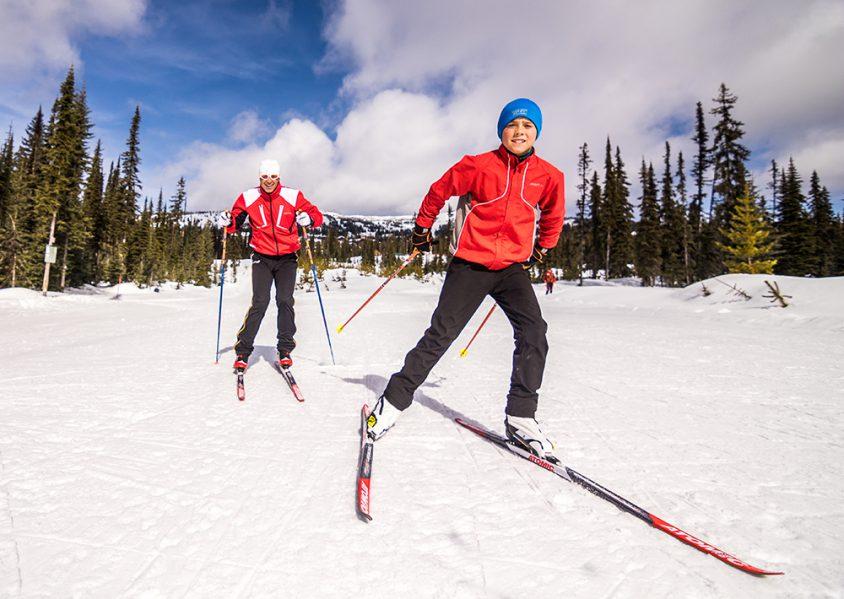 Nordic skiing, Boundary
