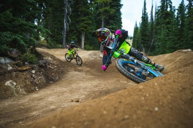 Downhill mountain biking, Boundary Country