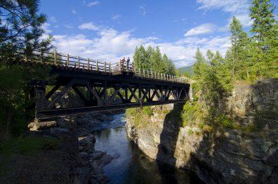 Biking TCT, near Christina Lake, Boundary, summer, activities, Darren Robinson