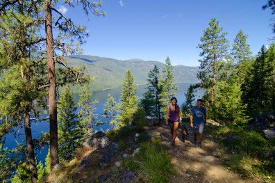 Deer Point Trail, Christina Lake Provincial Park, Boundary