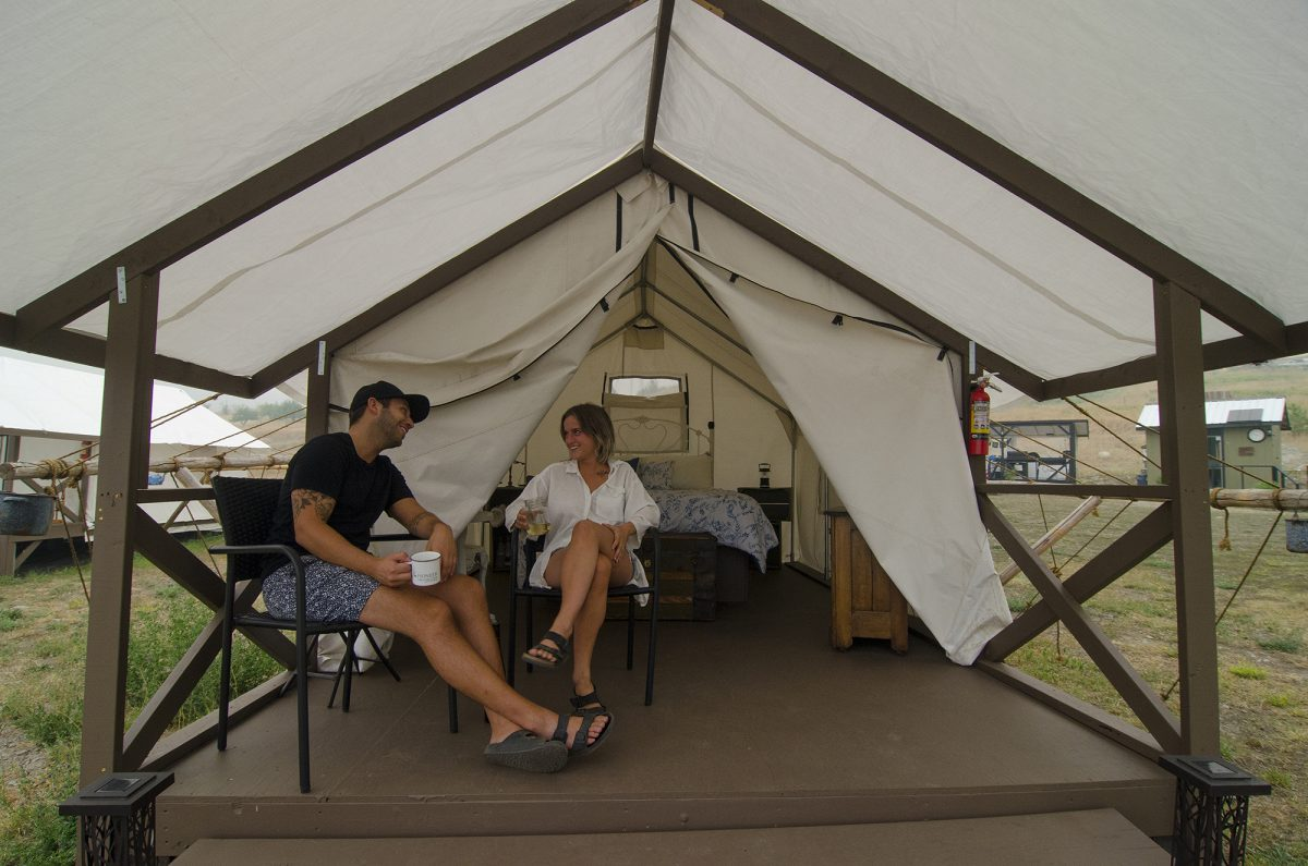 Pioneer Orchard & Glamping, near Grand Forks, Boundary Country