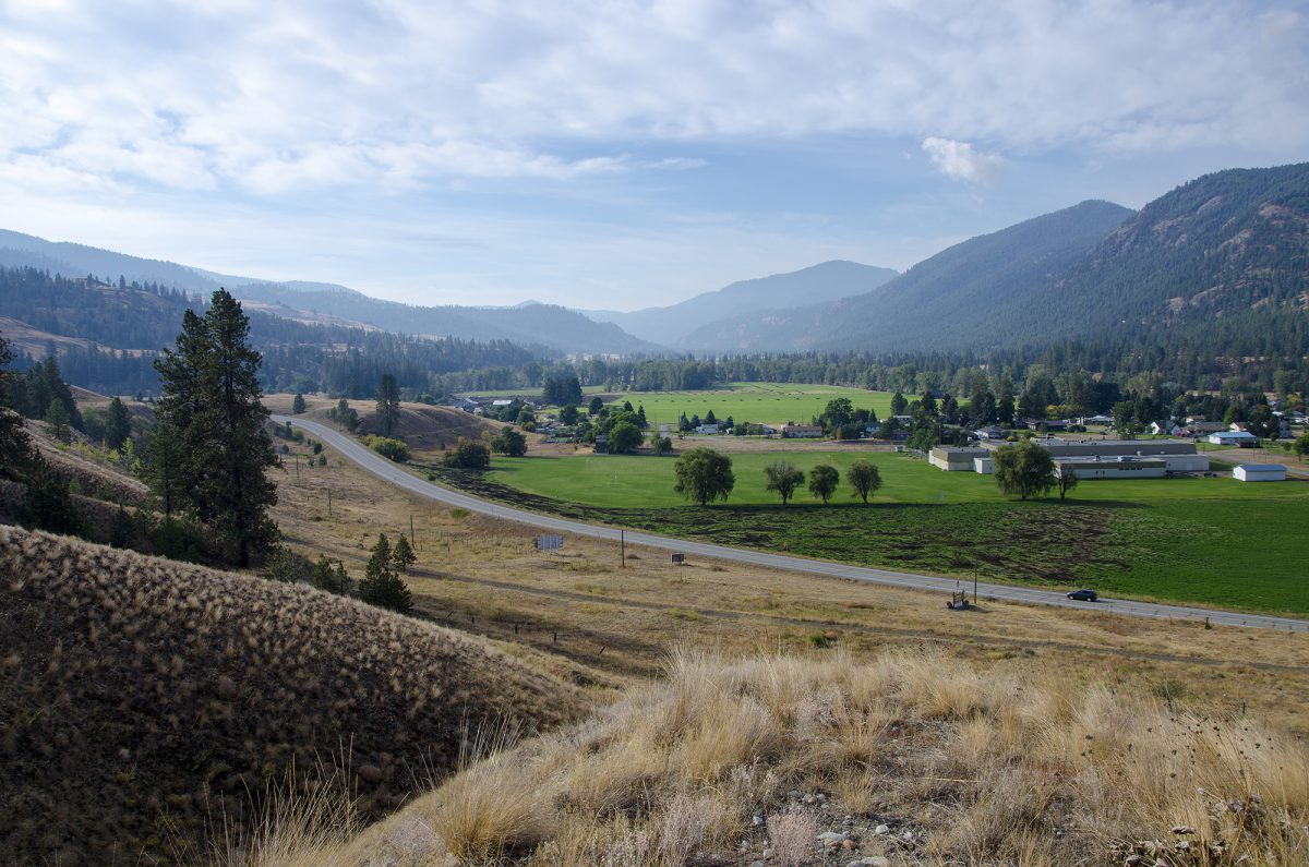 Highway 3 100, Midway, Boundary Country, summer, landscape, Darren Robinson
