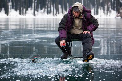 Ice Fishing Boundary BC