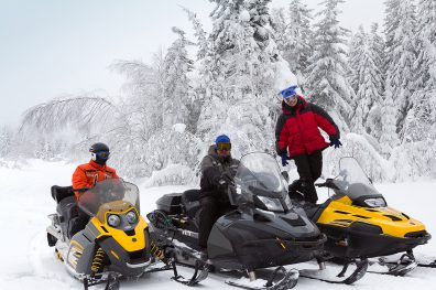 Snowmobiling Boundary Country