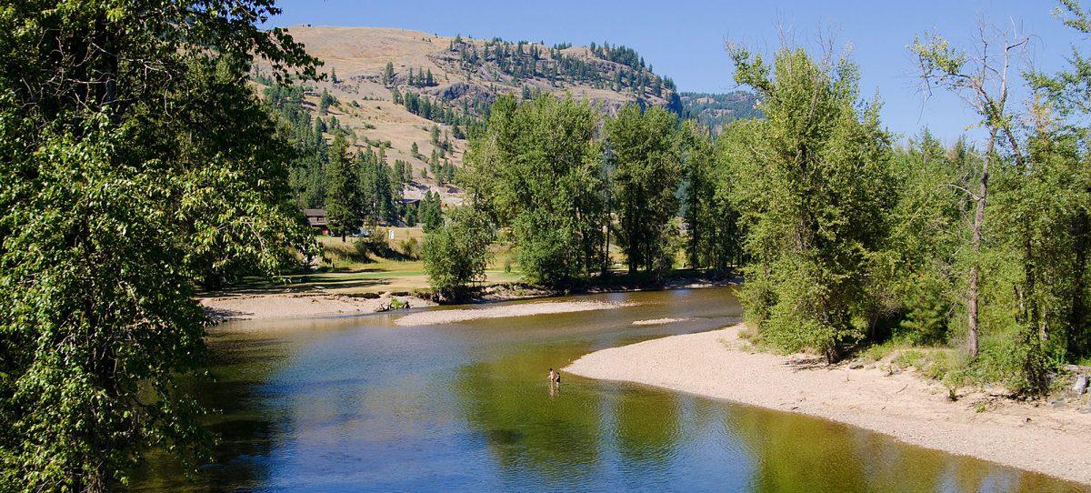 Swimming, Kettle River, Rock Creek, Boundary