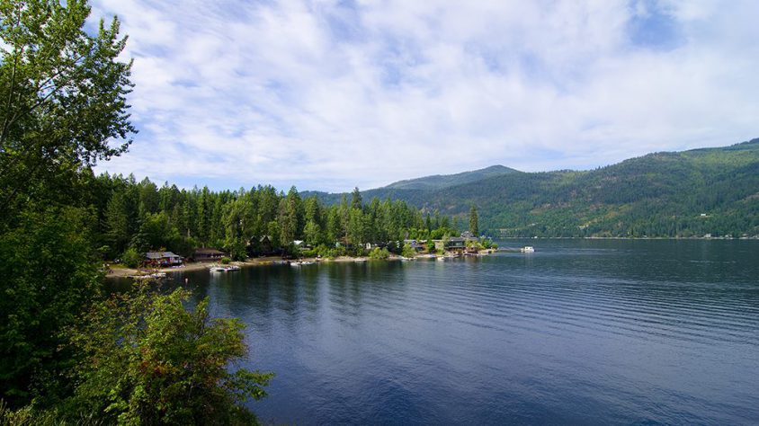 Summer homes, Christina Lake, Boundary