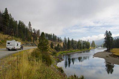 Highway 3 near Rock Creek, Boundary Country