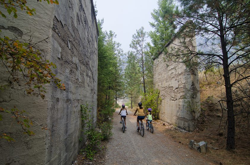 Biking 300, KVR Trail, Boothman Oxbow Provincial Park, near Grand Forks, Boundary Country, summer, activities, Darren Robinson