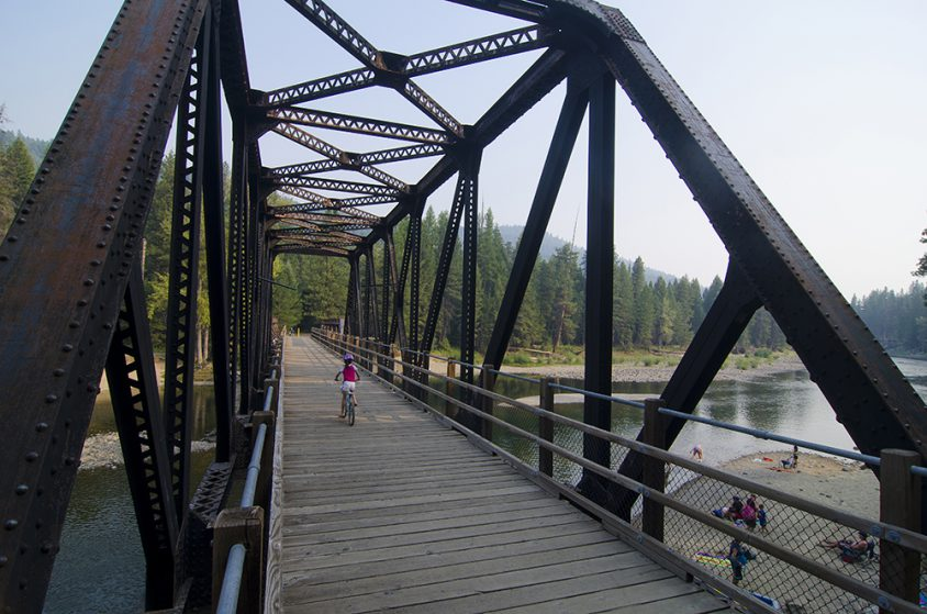 Trestle 230, KVR Trail, Kettle River Rec Area, near Westbridge, Boundary Country, summer, activities, Darren Robinson