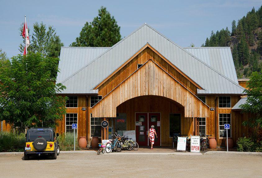 Christina Lake Welcome Centre, Christina Lake, Boundary