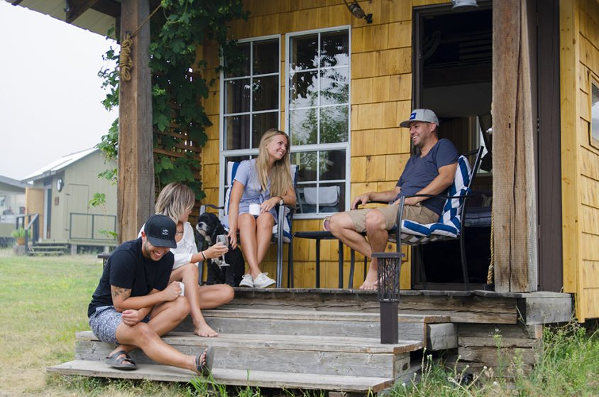 Pioneer Orchard & Glamping 28, near Grand Forks, Boundary Country