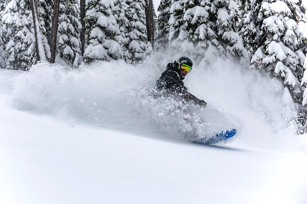 Snowboarding Boundary