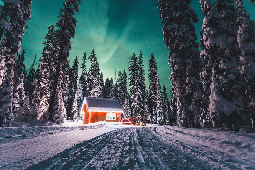 Nordic ski trails, Boundary