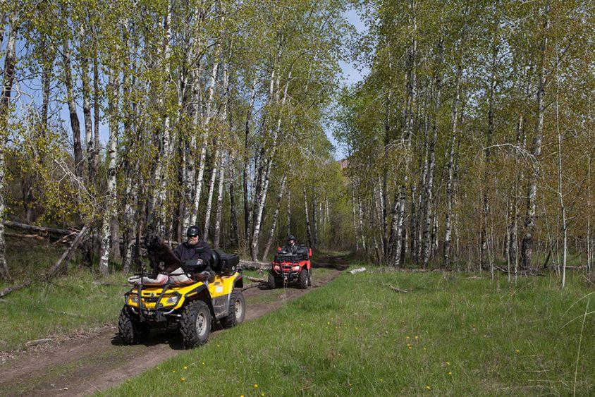 ATV trails, Boundary