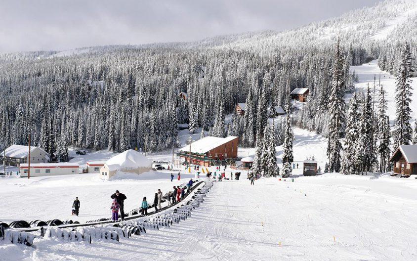 Baldy Mountain in winter