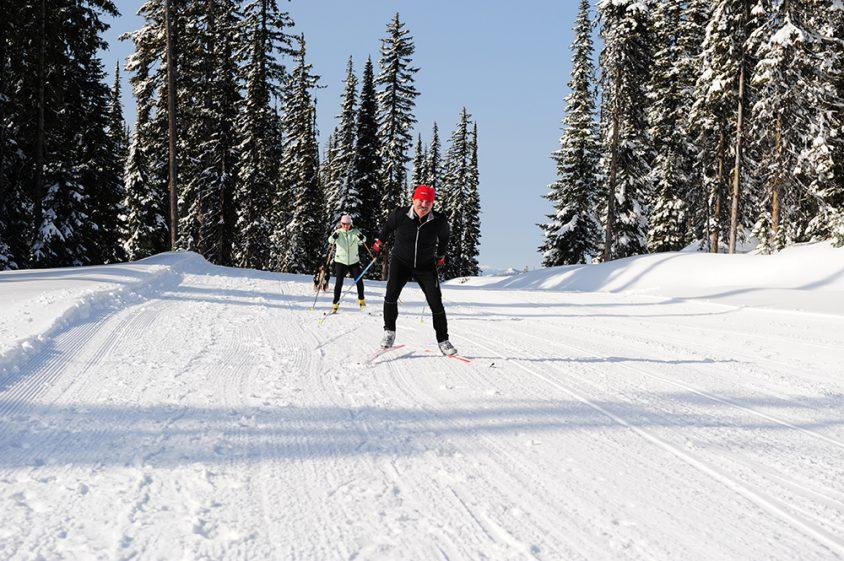 Nordic skiing Boundary