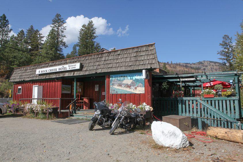 Rock Creek Hotel, Boundary