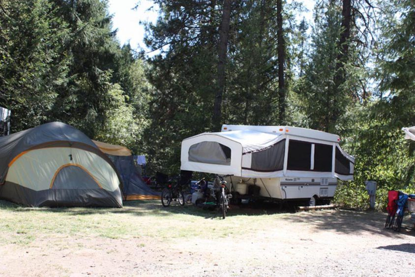 Tent Trailer, RV Camping