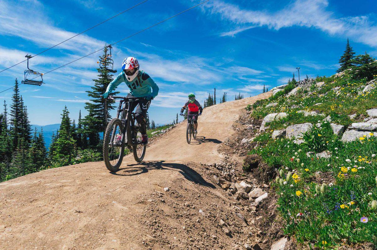 Mountain Biking Boundary Country BC
