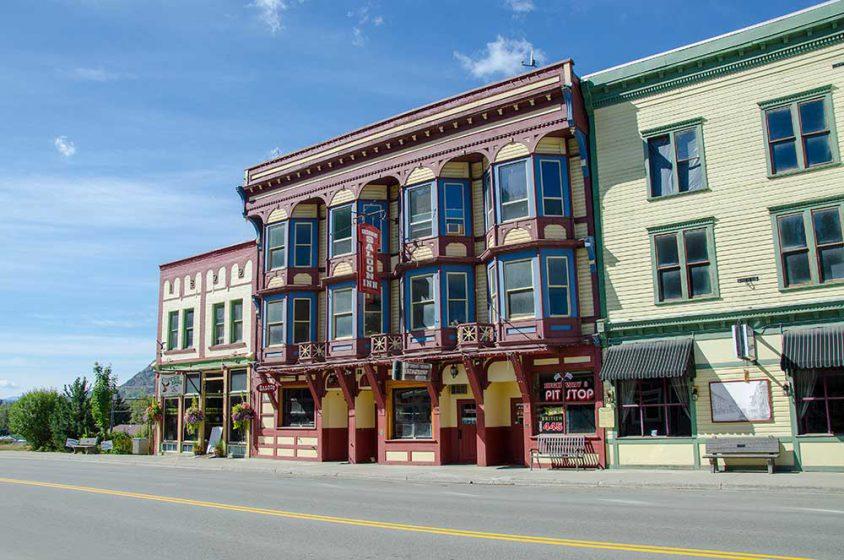 Heritage buildings Boundary BC