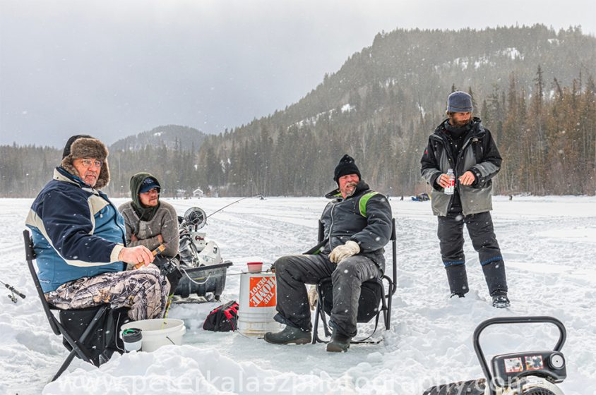 Ice Fishing, Boundary Country