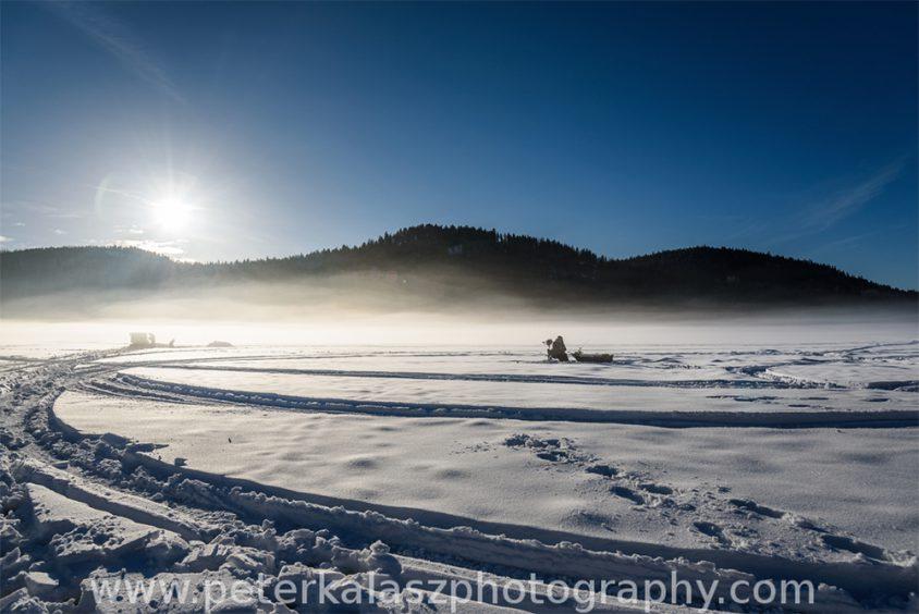 Ice fishing, Boundary