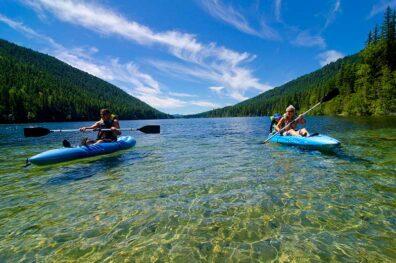 Paddle Jewel Lake