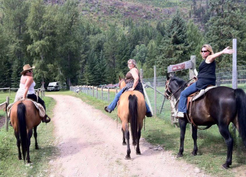 Horseback riding, ranch vacation