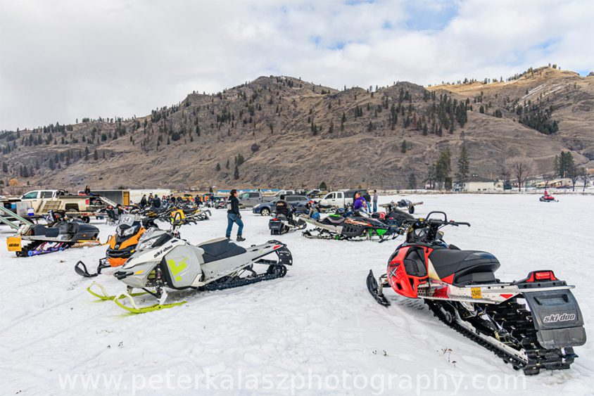 Snowmobile Boundary Country
