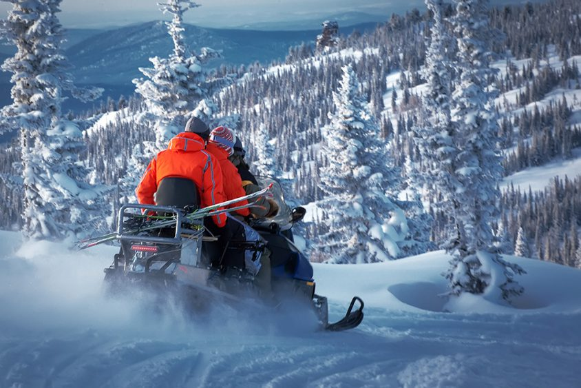 Snowmobile Boundary Country BC