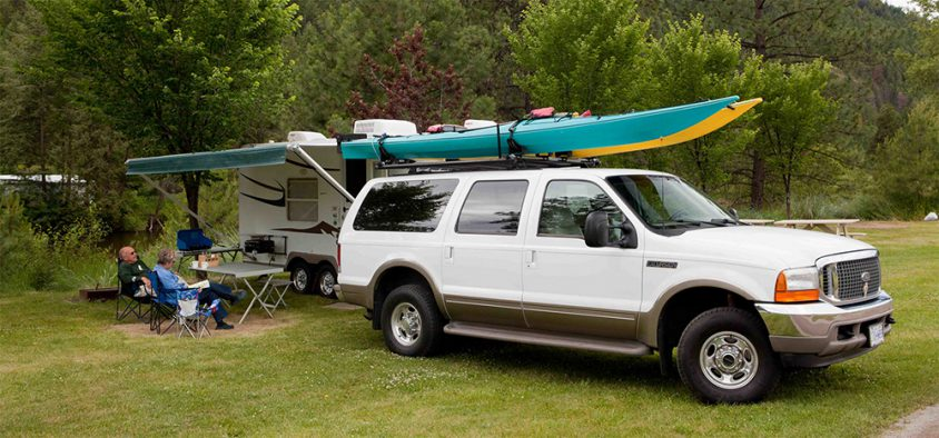 Camping, Boundary Country