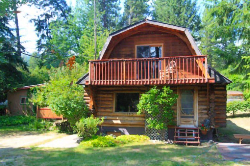 Log house rental