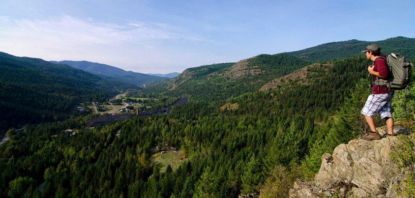 Hiking, Greenwood, Boundary