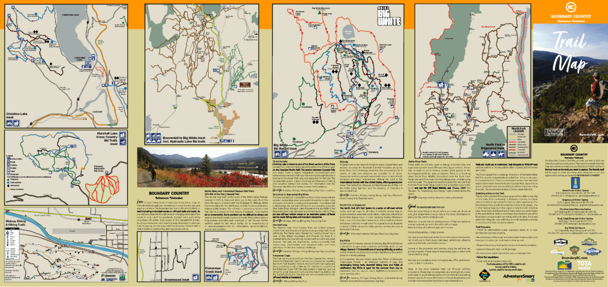 2021 Boundary Trail Map